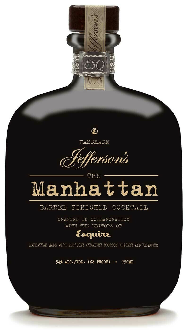 Jefferson's The Manhattan Barrel Finished Coctail 34% 70CL