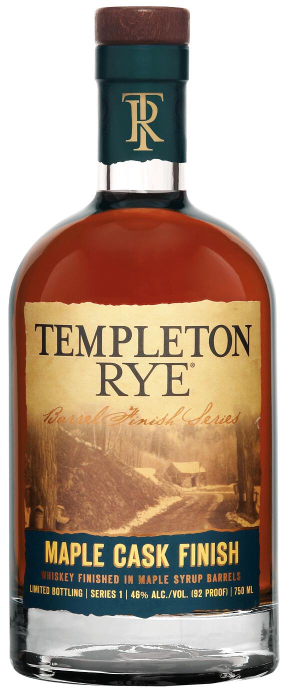 Templeton Rye Maple Cask Finish 40% 70CL