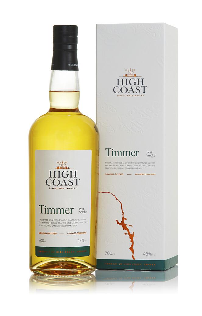 High Coast Timmer Peat Smoke 48% 70CL