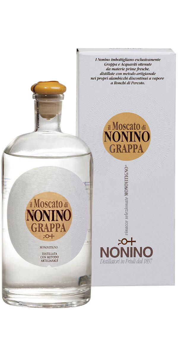 Nonino Grappa Moscato 41% 70CL