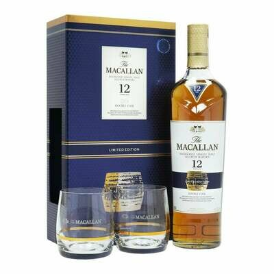 The Macallan 12 Years Double Cask Gift-Pack +2Glasses