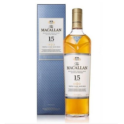 The Macallan 15 Years Triple Cask 43% 70CL