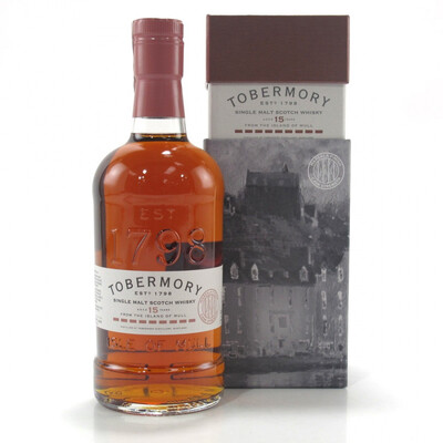 Tobermory 15 Marsala Finish 56,2% 70CL