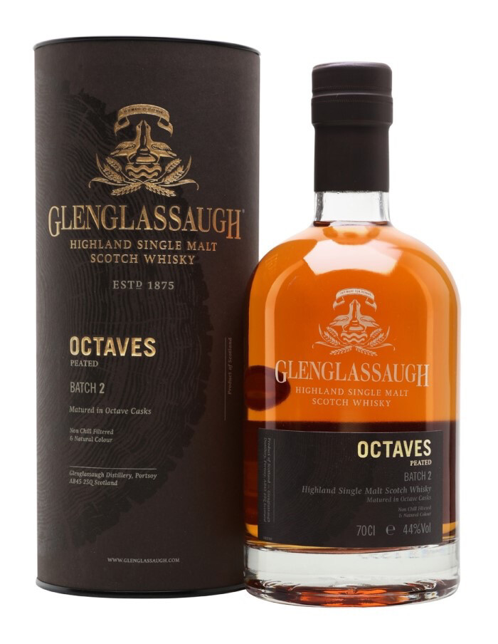 Glenglassaugh Octaves Peated Batch 2 44% 70CL