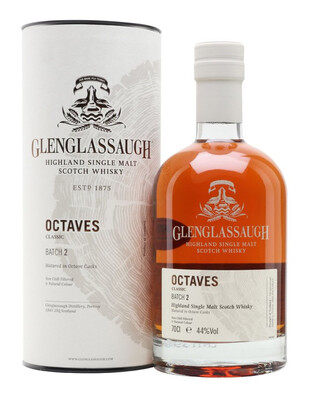 Glenglassaugh Octaves Classic Batch 2 44% 70cl