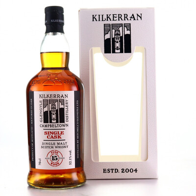 Kilkerran Single Cask Fino Wood 52,1 % 70CL
