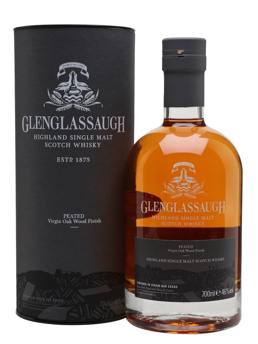 Glenglassaugh Peated Virgin Oak Wood Finish 46% 70CL