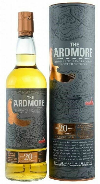 The Ardmore 20 Years vintage 1996 49.3% 70CL