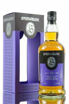 Springbank 18 Years 46% 70CL