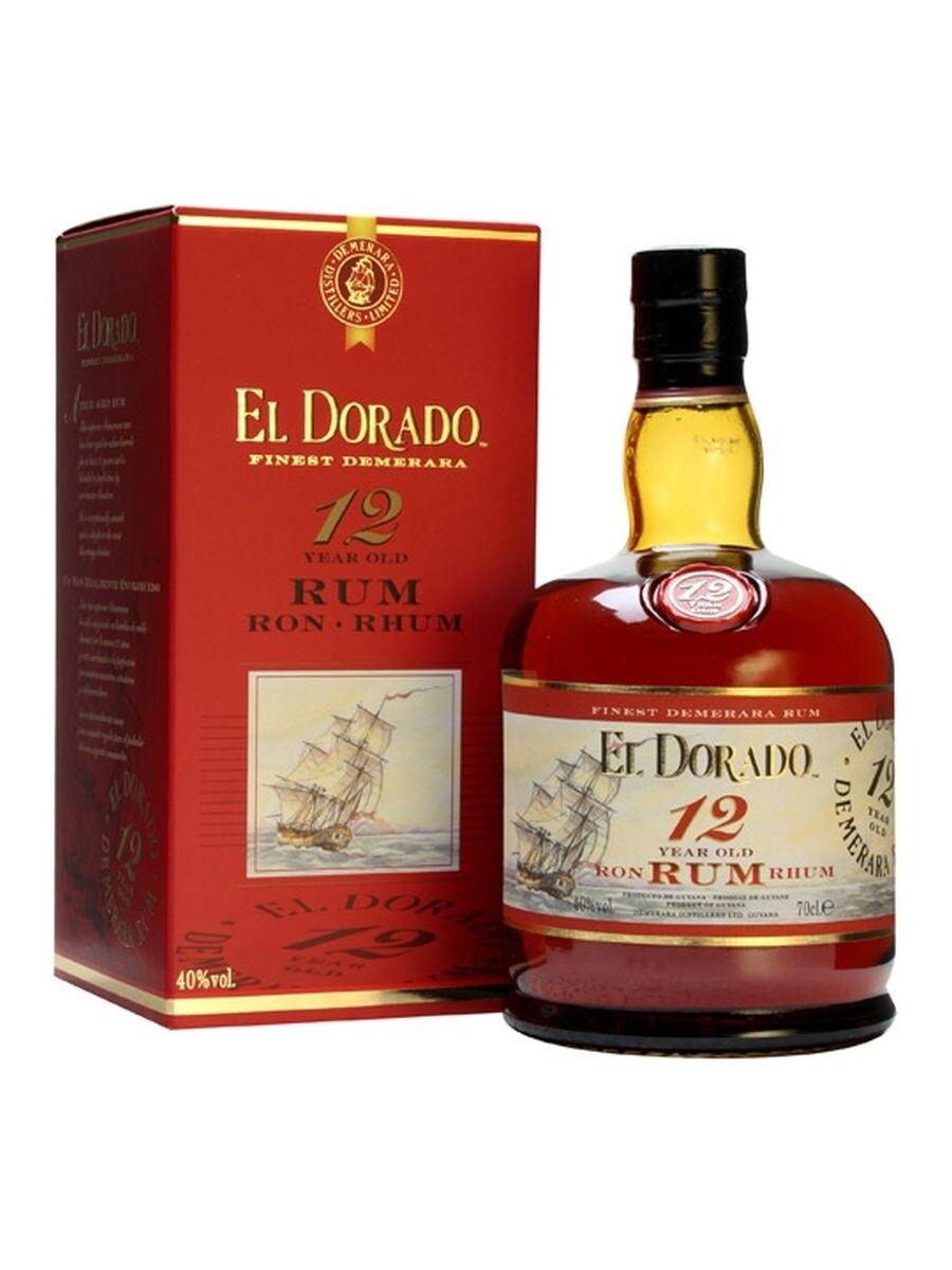 El Dorado 12 Years 40% 70CL