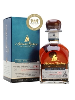 Admiral Rodney  Saint Lucia Rum Extra Old HMS Royal Oak 40% 70CL