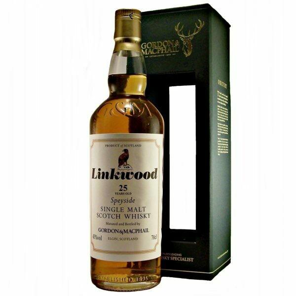 Linkwood Gordon & Macphail 25 Years 43% 70CL