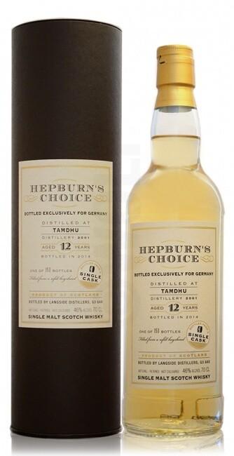 Tamdhu 12 Years Hepburn's Choice 46% 70CL