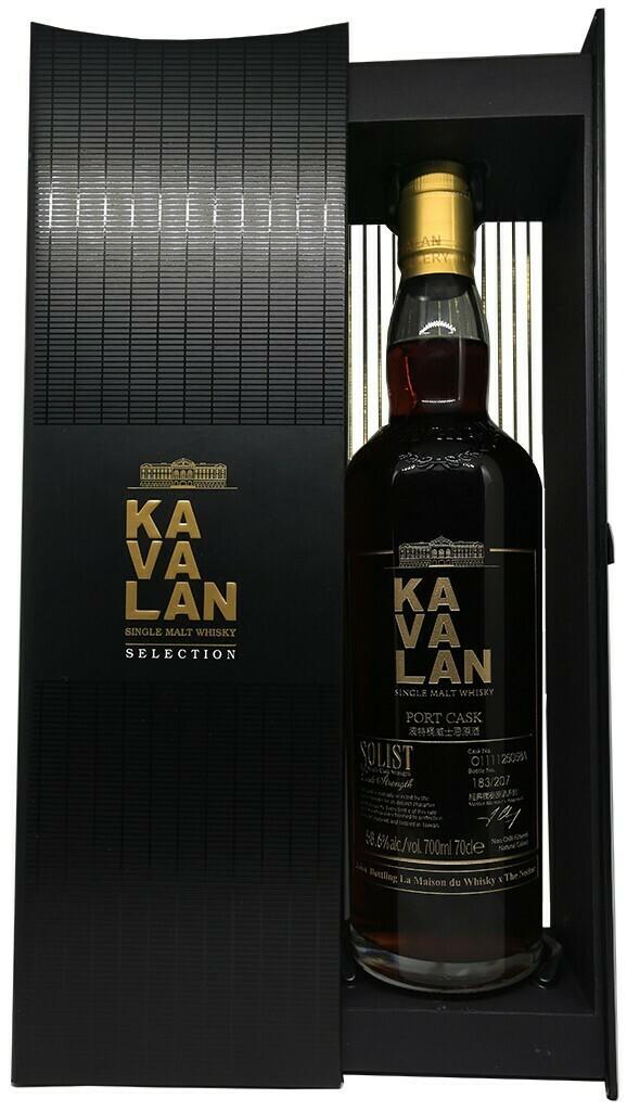 Kavalan Port Cask Solist 58.6% 70CL