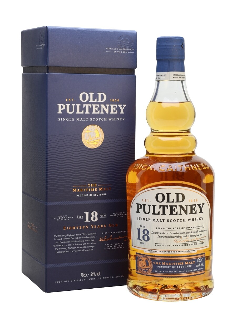 Old Pulteney 18 Years 46% 70CL
