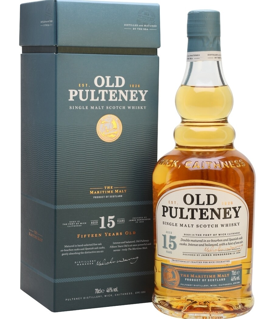 Old Pulteney 15 Years 46% 70CL