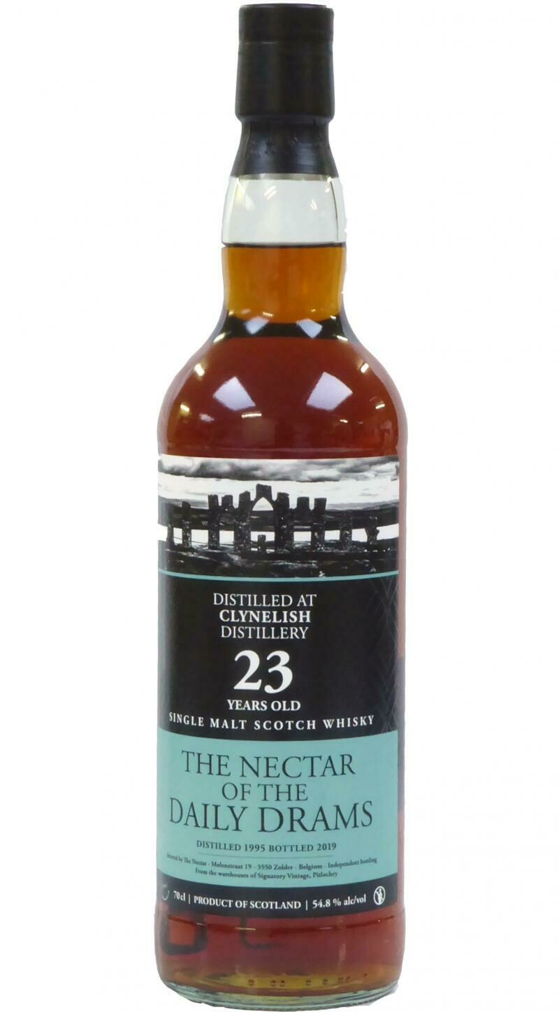 Clynelish 23 Years old The Nectar Of The Daily Drams 54.8% 70CL
