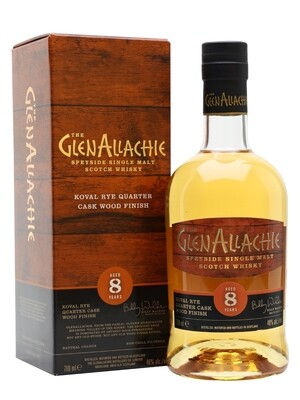 GlenAllachie 8Years Old Koval Rye 48% 70CL