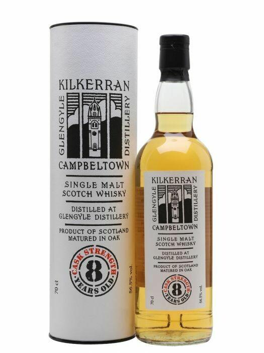 Kilkerran 8 Years Cask Strenght 56.5% 70CL