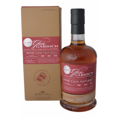 Glen Garioch Wine Cask Matured 1998 48% 70CL