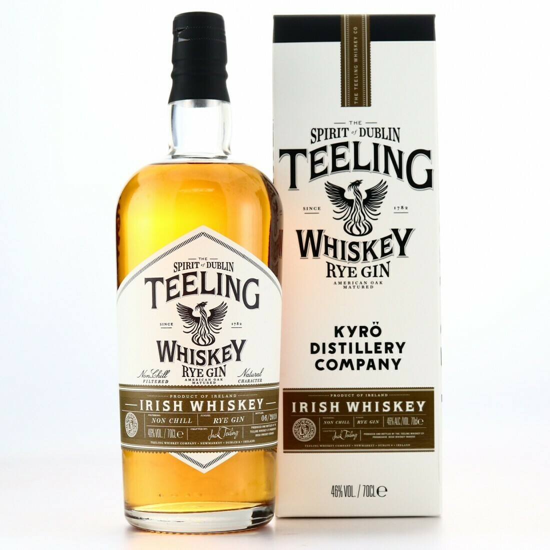 Teeling Rye Gin Finish 46% 70CL