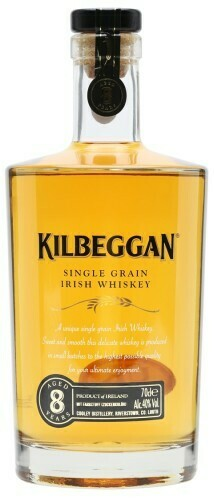 Kilbeggan Single Grain Whiskey 8 Years 40% 70CL