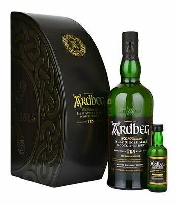 Ardbeg Ten Giftpack 46% 70CL