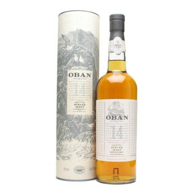 Oban 14 Years 43% 70CL
