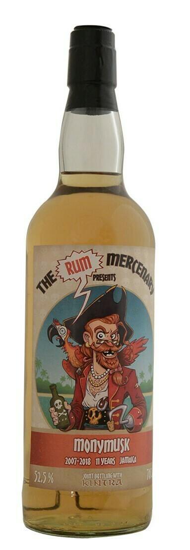 Monymusk 11 Years The Rum Mercenary 54.5% 70CL