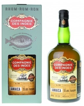 Compagnie Des Indes Jamaica 16 Years 44% 70CL
