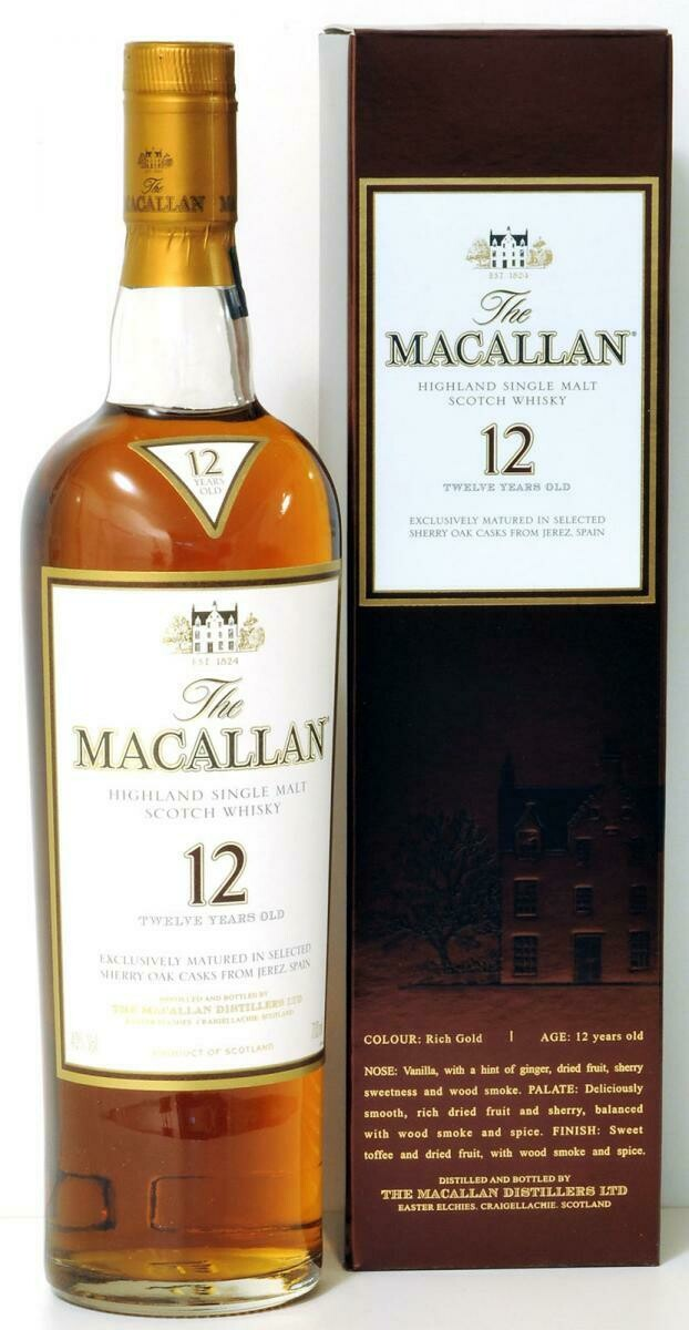 The Macallan 12 Years Sherry Oak