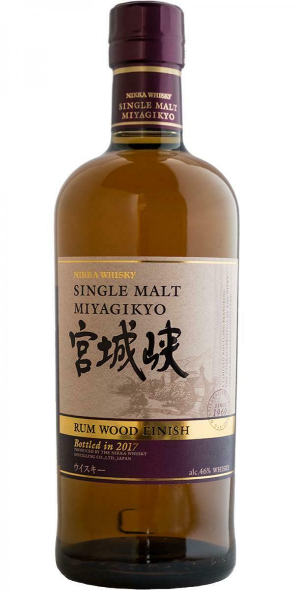Miyagikyo Rum Wood Finish 2017 46% 70CL