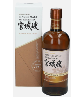 Miyagikyo Bourbon Wood Finish 46% 70CL