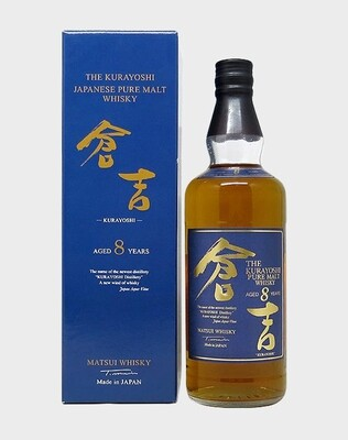 The Kurayoshi 8 Years 43% 70CL