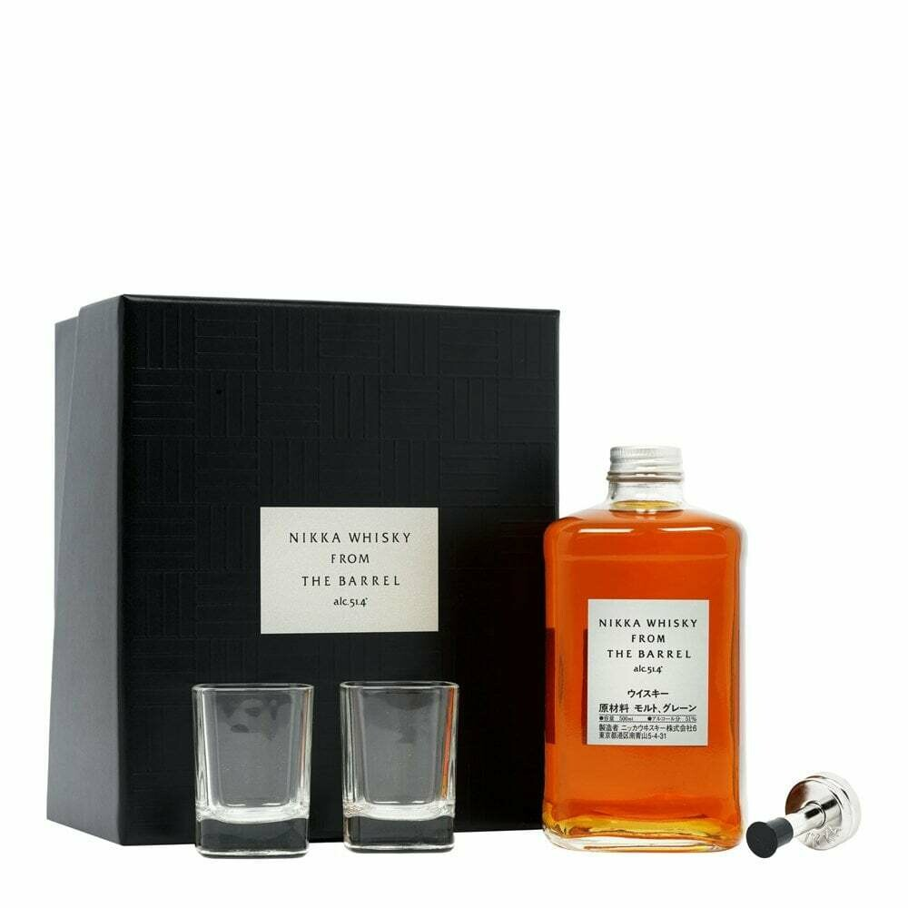 Nikka Whisky From The Barrel Gift-box 51.4% 70CL