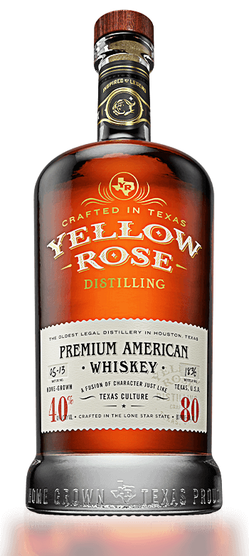 Yellow Rose Premium American Whiskey 40% 70CL