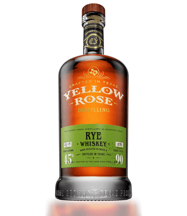 Yellow Rose Rye 45% 70CL
