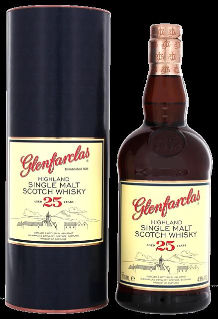 Glenfarclas 25Years 43% 70CL