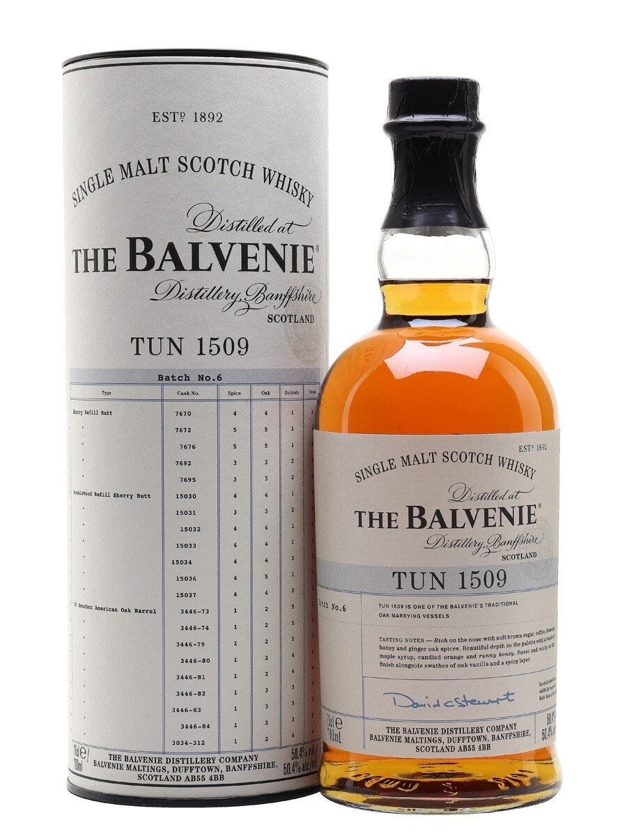 The Balvenie Tun 1509 Batch No.6 50.4% 70CL