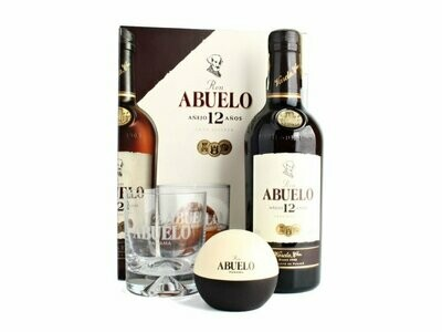 Ron Abuelo Anejo 12 Gift pack 40% 70CL