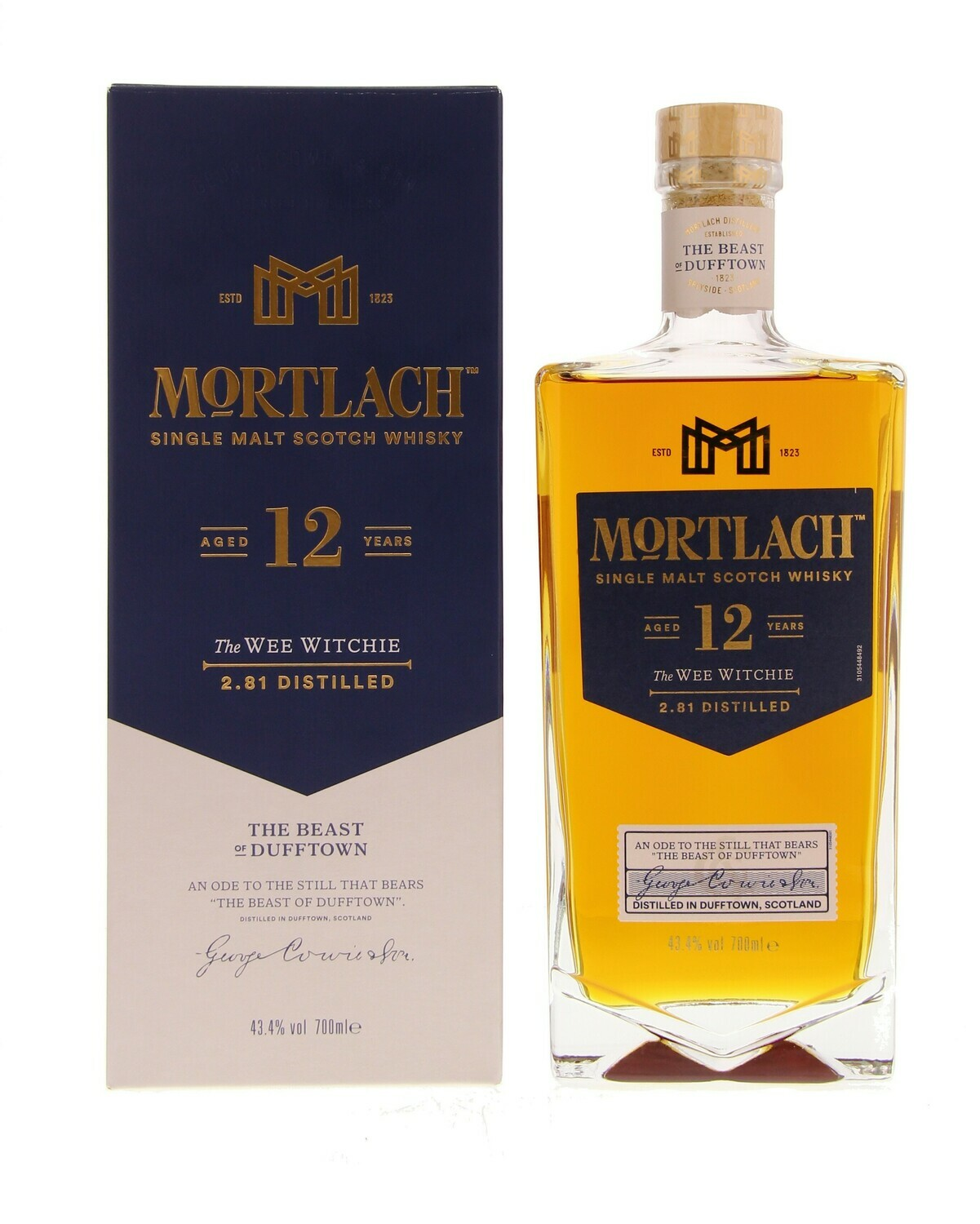 Mortlach 12 Years 43.4% 70CL