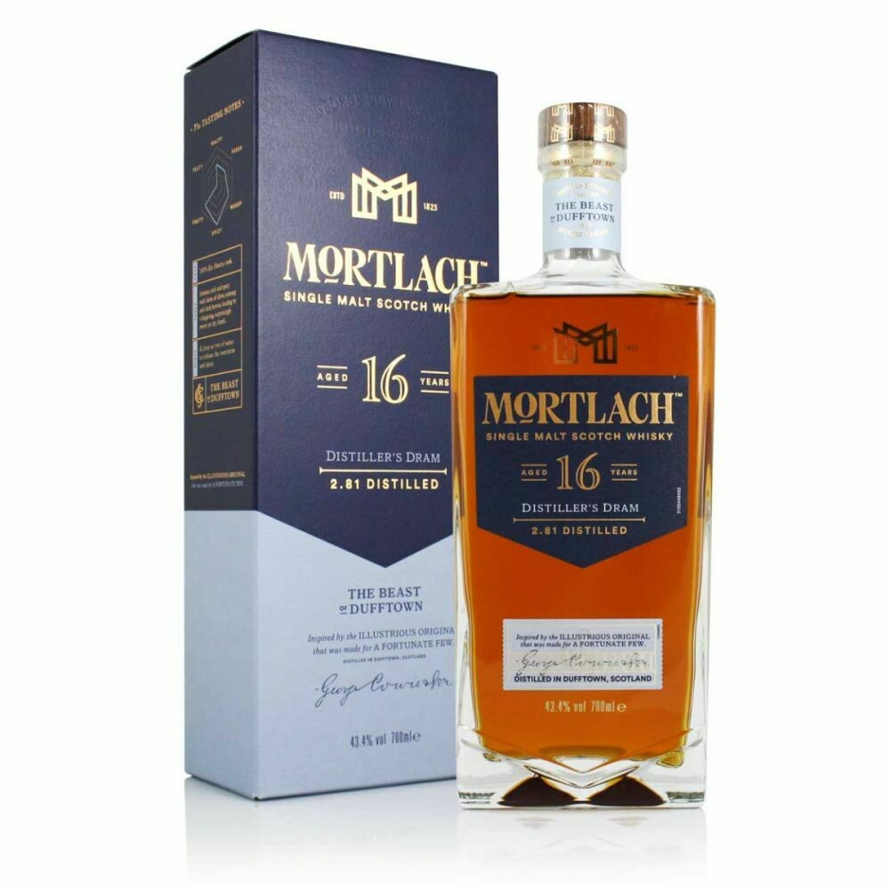 Mortlach 16 Years 43.4% 70CL