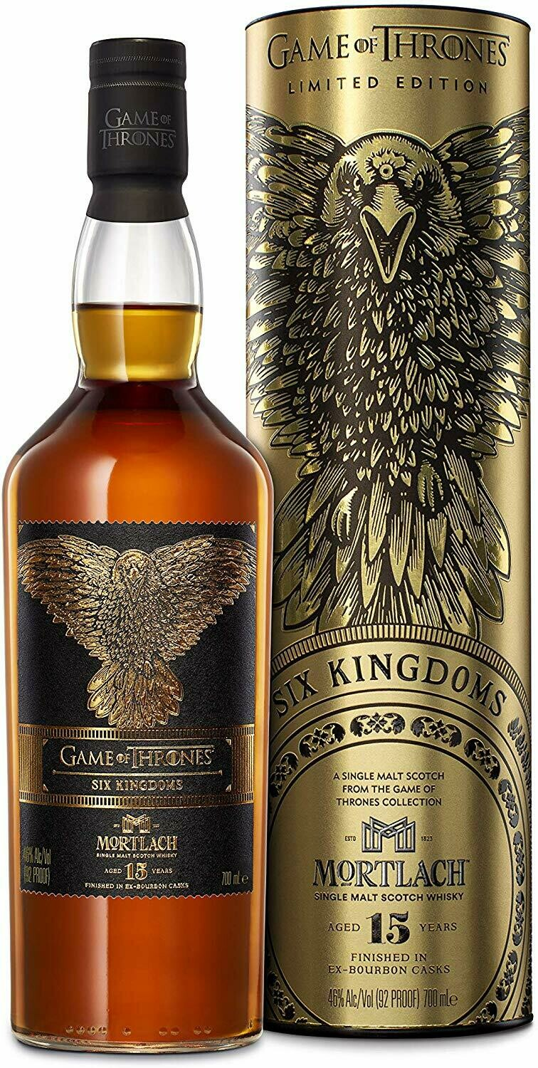 Mortlach 15 Years Game of Thrones 46% 70CL