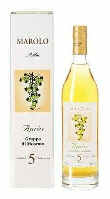 Marolo Alba Grappa Di Moscato 5 Santa Jeresa 42% 70CL