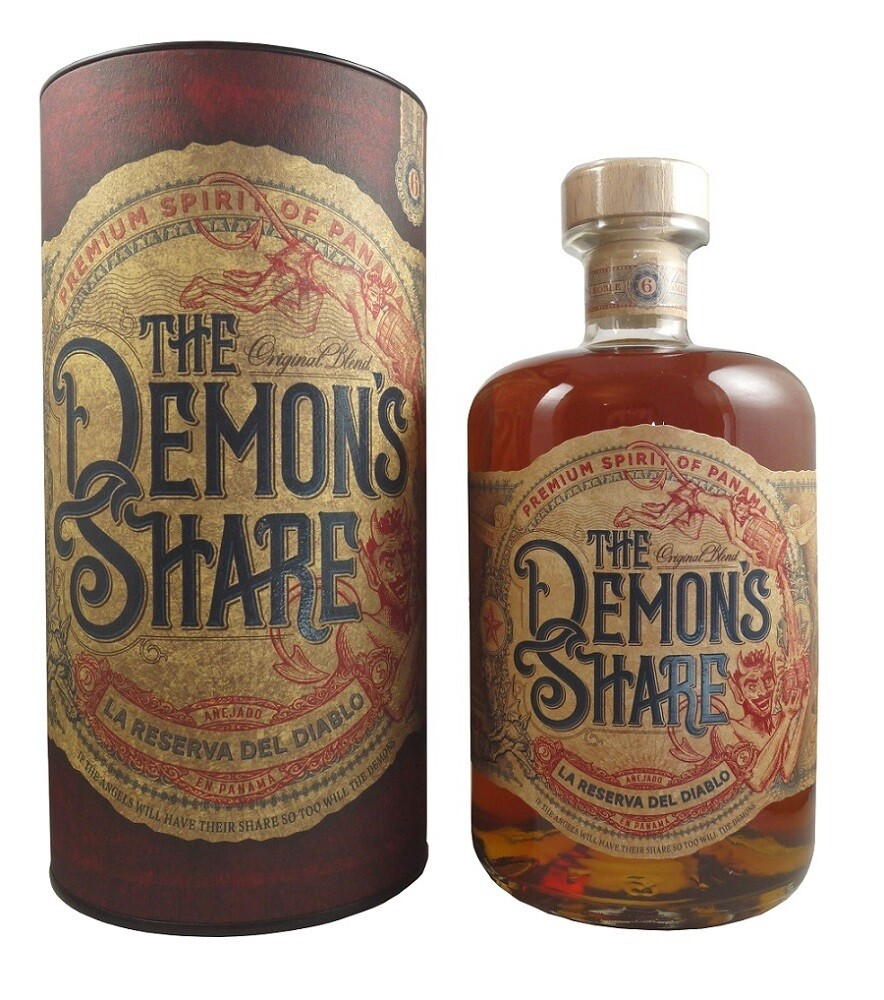 The Demon's Share Rum 40% 70CL
