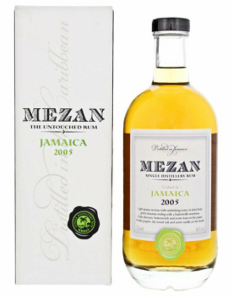 Mezan The Untouched Rum Jamaica 2005 46% 70CL