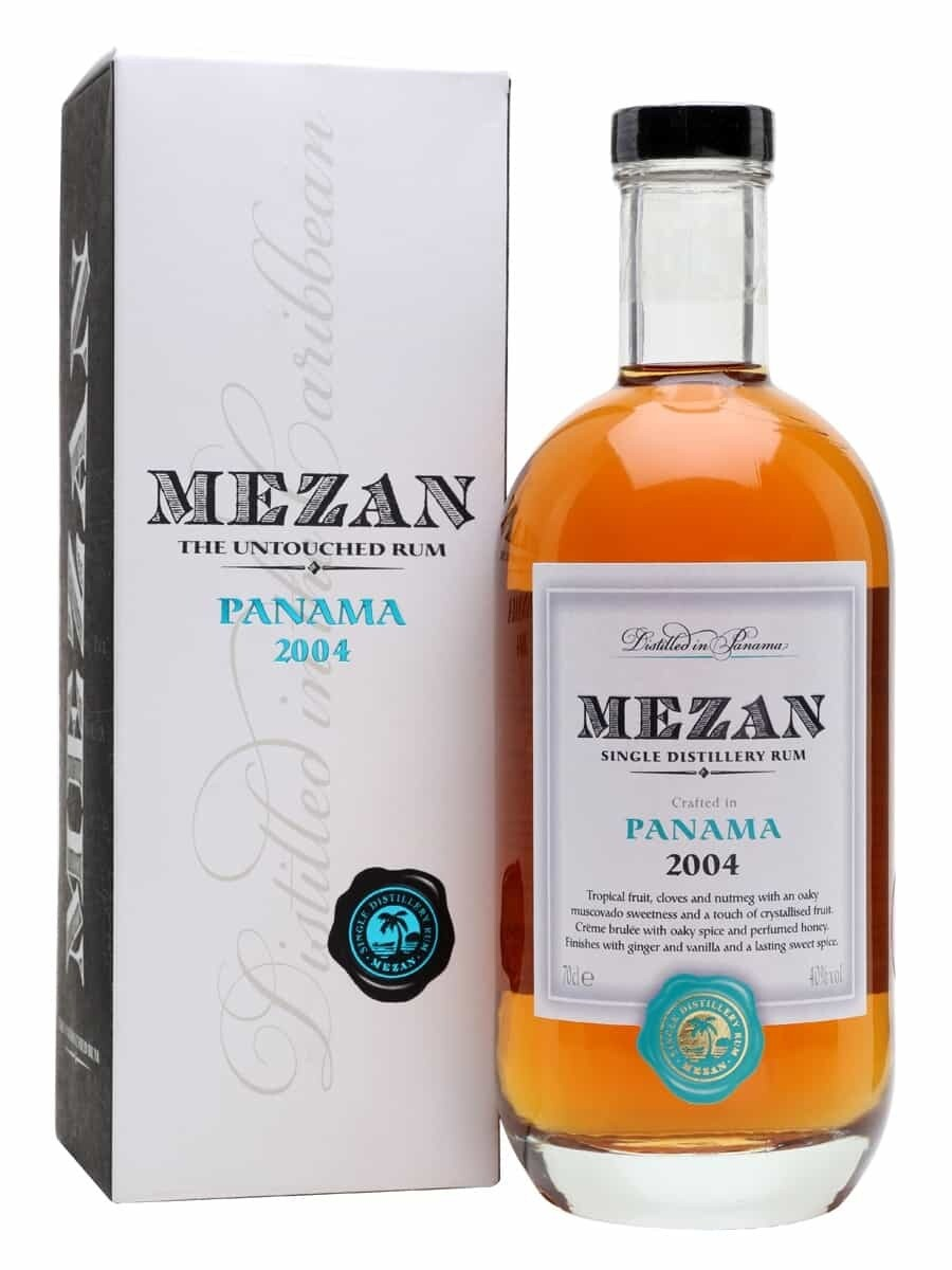 Mezan The Untouched Rum Panama 2004 40% 70CL