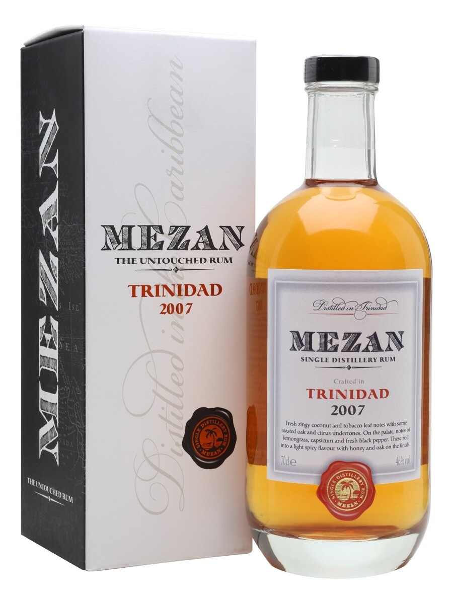Mezan The Untouched Rum Trinidad 2007 46% 70CL