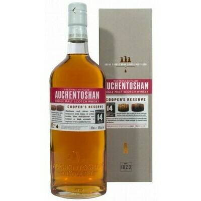 Auchentoshan Cooper's Reserve 14 Year 46% 70CL