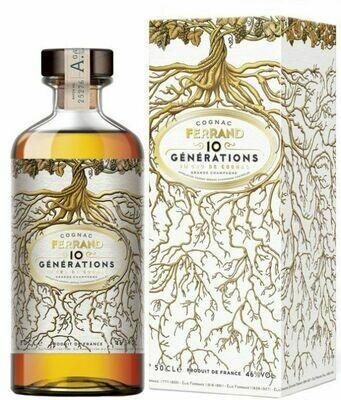 Cognac Ferrand 10 Générations 46% 50CL